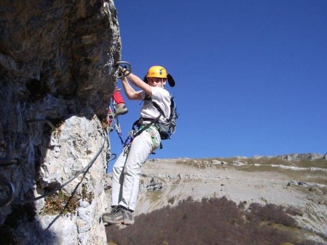 Via ferrata du Col du Rousset