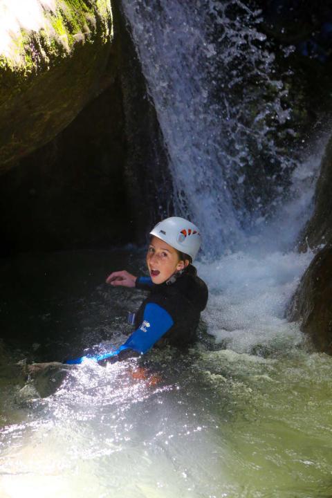 Canyon du Furon bas